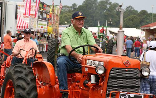 Photo of tractors
