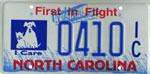 I Care license plate