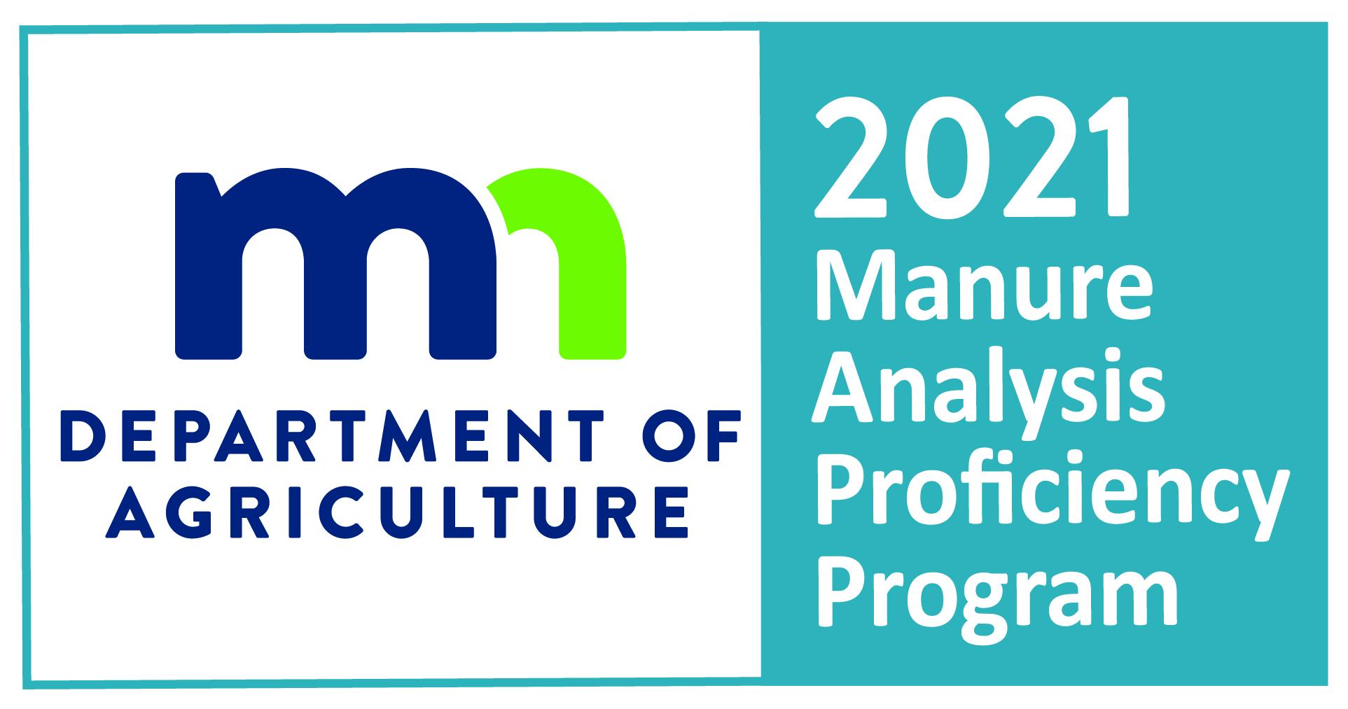 2017 Manure Analysis Proficiency Program logo