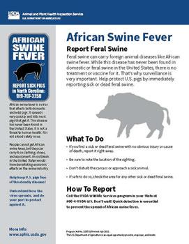 Report Feral Swine Poster