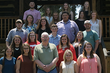 2019 Youth Livestock Scholarship recipients